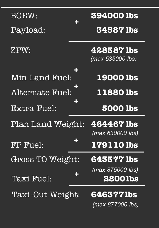 Screenshot B747 Fuel