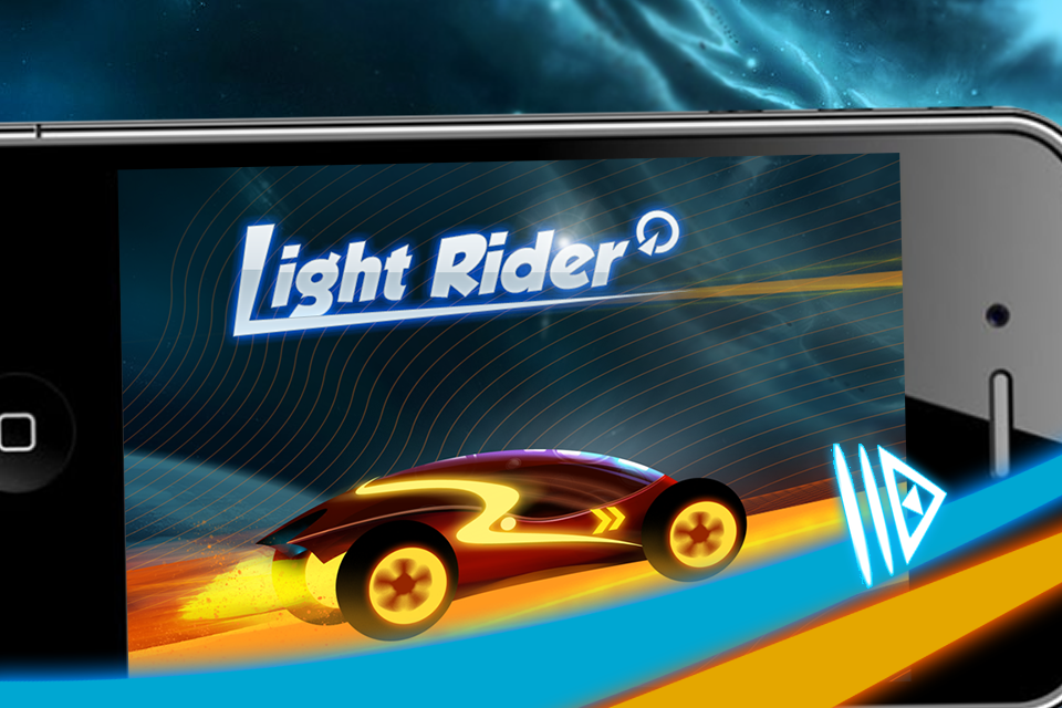 Screenshot Neon car